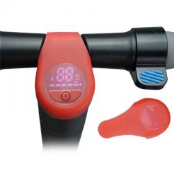 Elektrikli Scooter Silikon Ekran Kılıfı Model 2 - Kırmızı