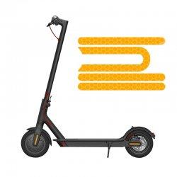 Elektrikli Scooter Reflektör Model-2 - Turuncu