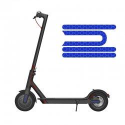 Elektrikli Scooter Reflektör Model-2 - Mavi