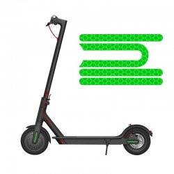 Elektrikli Scooter Reflektör Model-2 - Yeşil