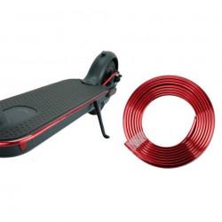 Elektrikli Scooter Koruma Şeridi - Kırmızı Renk