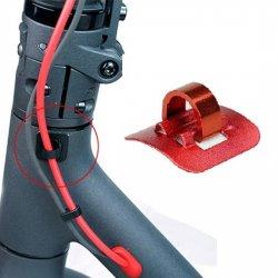 Elektrikli Scooter Kablo Tutucu ve Toplayıcı - Kırmızı